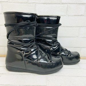 Tecnica Black Puddle Jumper, Moon Boot, Size 39